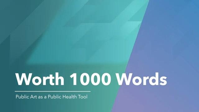 Worth 1000 Words Public Art As A Public Health Communication Tool 0 1 Screenshot