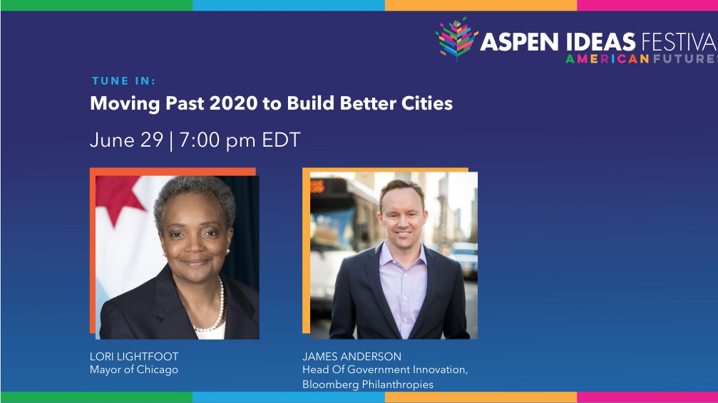 Lori Lightfoot And James Anderson Session Card Aif2021