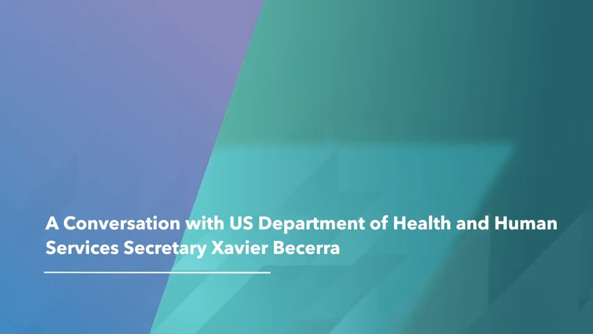 A Conversation With Us Department Of Health And Human Services Secretary Xavier Becerra 0 0 Screenshot