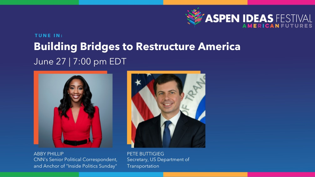 Confirm Date Abby Phillip And Pete Buttigieg Session Card Aif2021