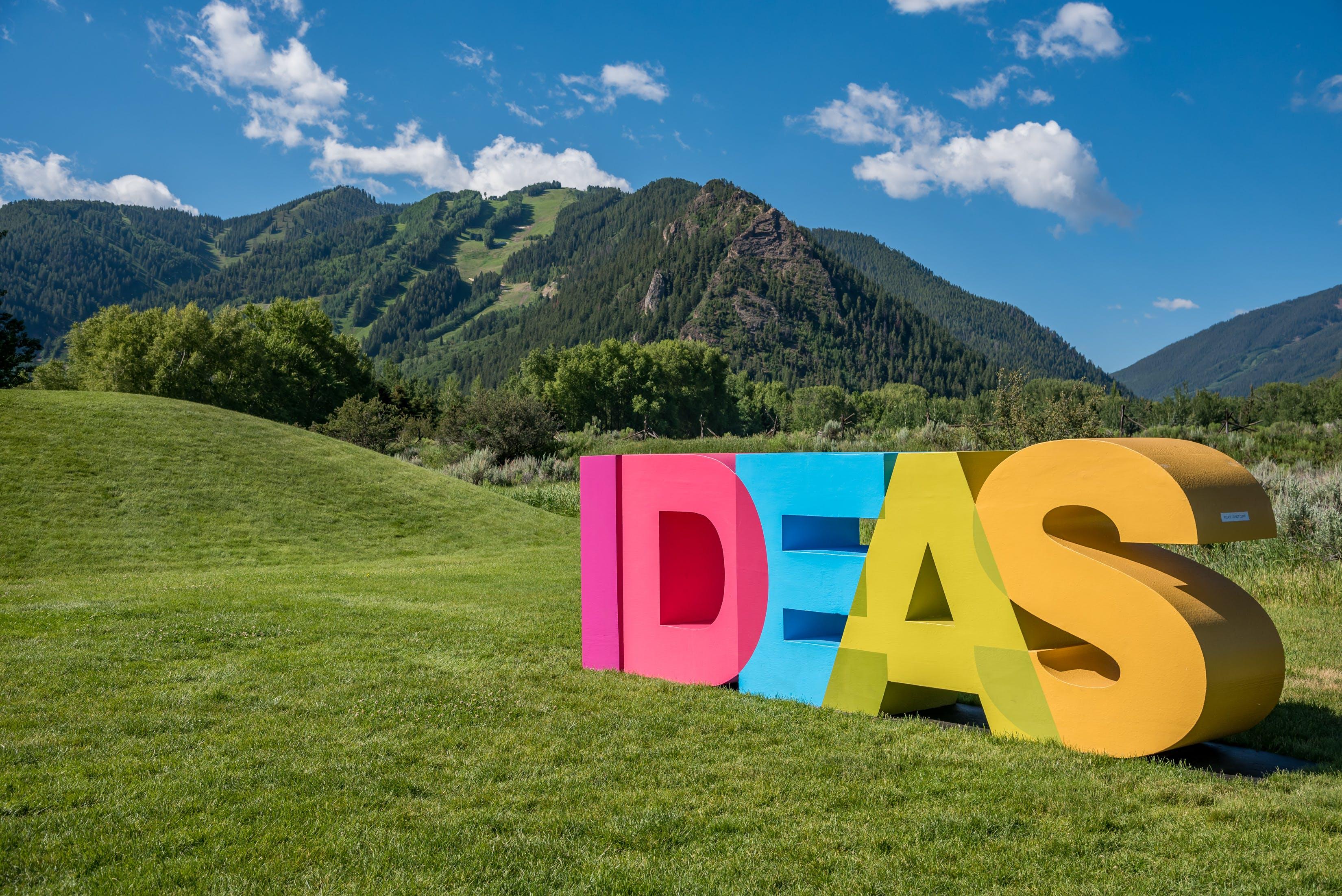 IDEAS sculpture