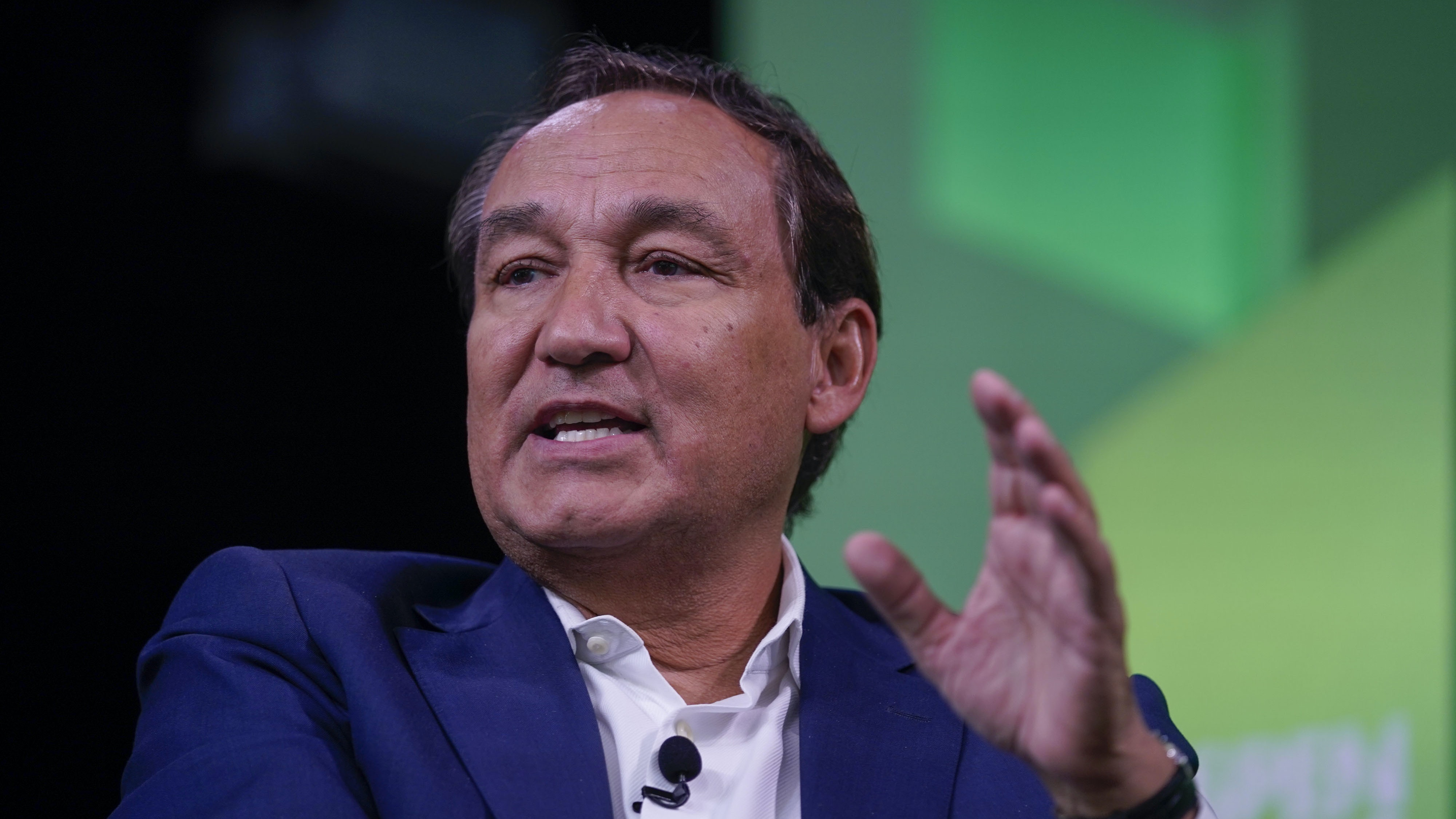 Oscar Munoz, Aspen Ideas Festival, 2019